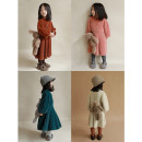 Dress Off white, dark green, skin pink, ginger sugar color female Yoehaul / youyou 80cm,90cm,100cm,110cm,120cm,130cm Other 100% winter leisure time Long sleeves Solid color Cotton blended fabric other D1152 12 months, 18 months, 2 years old, 3 years old, 4 years old, 5 years old, 6 years old Hangzhou