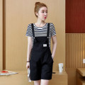 Casual pants S,M,L,XL,XXL Summer 2020 shorts High waist commute routine 25-29 years old 91% (inclusive) - 95% (inclusive) other Korean version pocket Asymmetry