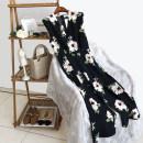 Dress Summer of 2018 Black flower S M L XL Mid length dress singleton  Sleeveless Decor Other / other DMN805114
