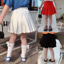 skirt 80, 90, 100, model, 110, 120, 130, 140, 150 Black, white, red Maimaiqiu female Cotton 95% other 5% summer skirt Korean version Solid color Splicing style other XA3228 Class B