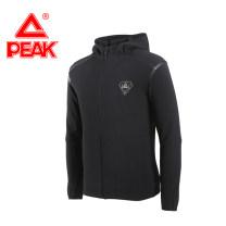 Sports jacket / jacket Peak / peak male S/160,M/165,L/170,XL/175,X2L/180,X3L/185,X4L/190 F683791 Black, big white, jujube Autumn of 2018 Hood zipper Badge, brand logo Sports & Leisure Warm, durable and breathable Men's training