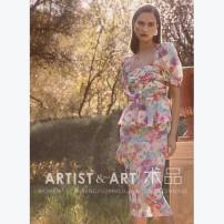 Dress Summer 2020 S,M,L Middle-skirt singleton  Short sleeve commute square neck middle-waisted zipper Retro printing silk
