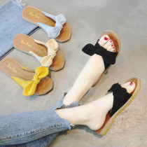 slipper 35 36 37 38 39 40 Sonlarfu / soranfu Beige yellow blue black Flat bottom Flat heel (1cm or less) PU Summer of 2018 One line rubber daily Korean version Adhesive shoes Youth (18-40 years old) children (under 18 years old) Solid color PU PU