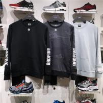 Sportswear / Pullover S/165,M/170,L/175,XL/180,XXL/185,3XL/190,4XL/195,5XL/200 Ling / Li Ning Awdp377-2 standard black, awdp377-1 cloud gray blue, awdp419-2 black camouflage male AWDP377/419 Socket Crew neck cotton Basketball Men's Basketball