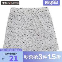 skirt Summer 2011 160/64A,165/68A,150/60A,155/62A,160/66A,165/72A,165/74A,170/76A,170/78A,170/80A,175/82A White group, blue white group, blue group, pink group, black group Short skirt Natural waist