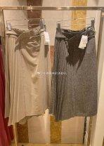 skirt Autumn 2020 0,1 Beige, mix SWFS204112 SNIDEL