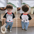 T-shirt As shown in the figure Other / other 80cm,90cm,100cm,110cm,120cm,130cm male summer leisure time There are models in the real shooting 2 years old, 3 years old, 4 years old, 5 years old, 6 years old, 7 years old