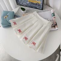 skirt Summer 2020 S,M,L Short skirt Versatile Pleated skirt Under 17