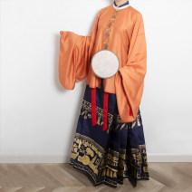 Custom made Hanfu Orange star T-shirt (second batch), orange star T-shirt (Fifth Batch), orange star T-shirt (Sixth Batch), orange star jacket (impervious cotton lining), customized (waiting for construction period), Xiaoyan T-shirt (first batch), Yuqing T-shirt (first batch) S. M, l, XL, others