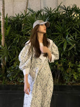 Dress Spring 2020 Xiaolanhua (now), 3 batches (7 days) S,M,L commute EOS LA MODE More than 95% cotton