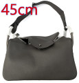 Men's bag The single shoulder bag cowhide Partial door One shoulder cross carry top layer leather