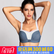 Bras Grey blue pink white black dark grey 70G75G80G85G90G95G70B70C70D70E70f75B75C75D75E75F80B80C80D80E80F85B85C85D85E85F90B90C90D90E90F95C95D95E95F Fixed shoulder strap Rear three row buckle There are steel rings Full cup U-shaped LA ISLA Young women motion Thin mould cup No insert Solid color motion