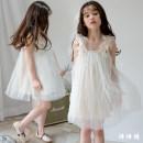 Dress Beige female Other / other 110cm,120cm,130cm,140cm,150cm,160cm Other 100% summer Korean version Skirt / vest Solid color other other Three, four, five, six, seven, eight, nine, ten, eleven, twelve