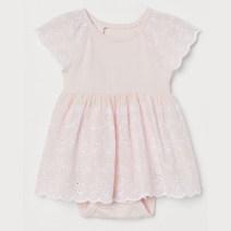 Dress White, light yellow, light pink, pink female HM 52 / 400-1 months, 59 / 40 1-2 months, 66 / 44 2-4 months, 66 / 48 4-6 months, 73 / 48 6-9 months, 80 / 48 9-12 months, 90 / 48 12-18 months, 90 / 52 1.5-2 years old, 100 / 56 2-3 years old, 110 / 56 3-4 years old Cotton 100% summer cotton other
