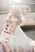 Lolita / soft girl / dress Drunk Red velvet (short yarn), red velvet (long yarn), black forest (short yarn), black forest (long yarn) S,L Pre sale