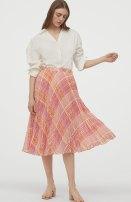 skirt Summer 2020 L,XL,32/XS,36/S,38/M Check pattern