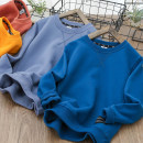 Sweater / sweater Other / other The side of the sweater is dark blue, and the side of the sweater is grey male spring and autumn nothing routine WY20Q07