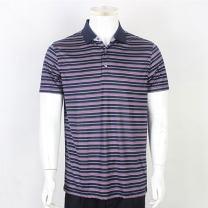 T-shirt Business gentleman 85 royal blue thin M (170 / 88a) in stock Goldlion / Jinlilai Short sleeve Lapel standard Other leisure summer MTSB238-11005-85