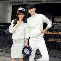 Casual suit Spring 2017 White milky white black dark grey S M L XL XXL XXL other sizes QL169 Othermix