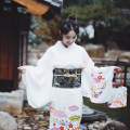 Dress Winter of 2018 Hand bag white S length 130 cm does not include waist seal and other accessories, m length 140 cm does not include waist seal and other accessories longuette singleton  Sweet Type H Time limited taste solar system