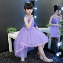 Dress 3126 purple vest, 3126 pink vest, 3126 white vest, 3126 blue vest female Kafelan 110cm,120cm,130cm,140cm,150cm,160cm Polyester 100% summer princess Skirt / vest Solid color other A-line skirt 3126-3 Class B 2, 3, 4, 5, 6, 7, 8, 9, 10, 11, 12, 13, 14 years old