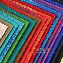 Fabric / fabric / handmade DIY fabric silk Loose shear piece Others Yarn dyed weaving clothing Chinese style