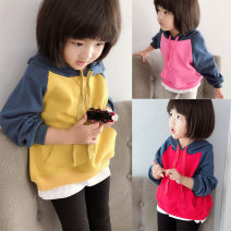 Sweater / sweater Other / other rose red neutral 100 = 7, 110 = 9, 120 = 11, 130 = 13, 135 = 15 spring and autumn No detachable cap leisure time Socket routine There are models in the real shooting other Solid color Polyester 100% other