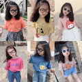T-shirt Other / other neutral summer Short sleeve Crew neck Korean version There are models in the real shooting nothing cotton Cartoon animation Class B 2 years old, 3 years old, 4 years old, 5 years old, 6 years old, 7 years old, 8 years old