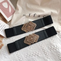 Belt / belt / chain other black female Waistband ethnic style Single loop Youth, youth, middle age a hook Glossy surface Glossy surface 6cm alloy Other / other SPJDDY357