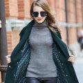 Wool knitwear Winter 2016 S,M,L,XL Grey, blue, pink Long sleeves singleton  Socket wool More than 95% Regular routine commute Self cultivation High collar routine Abstract pattern Socket Simplicity Zhendi