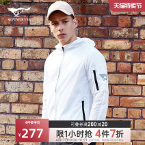 Jacket Septwolves Youth fashion 165A 170A 175A 180A 185A 190A thin standard motion spring Polyamide fiber (nylon) 100% Long sleeves Wear out Youthful vigor youth routine Zipper placket Spring 2020 Pure e-commerce (online only) nylon More than 95%