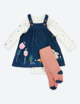 suit Other / other Blue flower Beijing spot, stripe Beijing spot 0-3 months (height 52-59 cm), 3-6 months (height 59-66 cm), 6-9 months (height 66-73 cm), 9-12 months (height 73-80 cm), 12-18 months (height 80-86 cm), 1.5-2 years (height 86-92 m), 2-3 years (height 92-98 cm) female spring and autumn