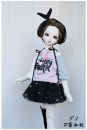 BJD doll zone jacket other Over 14 years old Customized Grey, white, pink 3,4