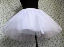 skirt Autumn of 2019 Average size White, black
