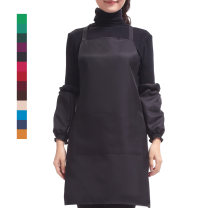 Apron suit Red, purple, green, black, dark green, coffee, pink, sky blue, treasure blue, blue-green, jujube red, navy blue, dark red, pink, orange Household cleaning Average size other Simplicity Lotus of seven antifouling
