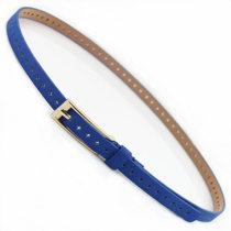 Belt / belt / chain pigskin Beige coffee rose leopard light blue camel white green blue black red female belt Versatile Single loop Pin buckle other