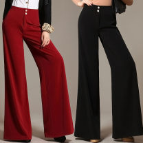 Casual pants M681 red thick, m681 black thick, m681 jujube thick, m681 dark green thick, m681 red thin, m681 black thin, m681 jujube thin, m681 dark green thin 27 (2 feet), 28 (2 feet 1), 29 (2 feet 2), 30 (2 feet 3), 31 (2 feet 4), 32 (2 feet 5), 33 (2 feet 6), 34 (2 feet 7) Autumn of 2018 trousers