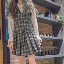 Fashion suit Autumn of 2018 S M Picture color [in stock] 18-25 years old cotton