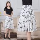 skirt Summer 2021 20: Waist 2 feet, 21: waist 2 feet 1, 22: waist 2 feet 2, 23: waist 2 feet 3, 24: waist 2 feet 4, 25: waist 2 feet 5, 26: waist 2 feet 6, 27: waist 2 feet 7, 28: waist 2 feet 8 white Middle-skirt Versatile Irregular letter N853