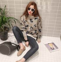 Wool knitwear Autumn 2020 Average size Dark Beige has been ordered, Dark Beige has arrived, 48h can be sent Long sleeves singleton  Socket cotton 51% (inclusive) - 70% (inclusive) Regular routine commute easy Half height crew neck routine other Socket Korean version 18-24 years old Set bead