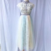 Dress Summer of 2018 Dress S M L Mid length dress singleton  Short sleeve Sweet 18-24 years old Type A