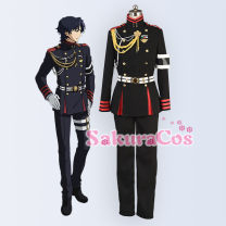 Cosplay men's wear suit Customized SakuraCos Over 14 years old Male, female comic 50. M, s, XL, customized Japan The fiery angel of the end Red lotus