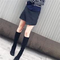 skirt Winter 2015 S,M,L Gray, black KC