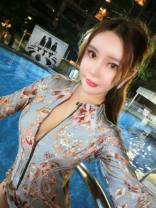 one piece  Hanshang products S. M, l, XL, the product is too large, take a small size Model color Triangle one piece swimsuit With chest pad without steel support nylon female Long sleeves Casual swimsuit Solid color, stripe, hand drawn, letter Hollowing out