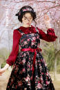 Dress Spring 2015 Black, beige, smoke purple, light pink S,M,L,XL,XXL,XXXL Mid length dress Sleeveless Decor Big swing straps cotton