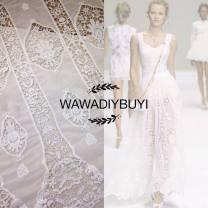 Fabric Defective half meter, white half meter price