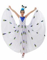 Children's performance clothes female white 120cm,130cm,140cm,150cm,160cm,170cm,180cm
