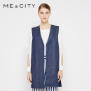 Vest Spring 2017 Deep indigo 155/80A,160/84A,165/88A Medium length other other 25-29 years old Me&City 96% and above other
