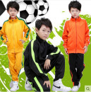 Football clothes 6801 black, 6801 fluorescent green, 6801 yellow, 6801 red, 6801 blue, 6801 green, 6801 orange, picture children model height 128, wearing 3xs XXXS,XXS,XS,S,M,L,XL,XXL,XXXL currency Fashion sports fan mall Player Edition Long suit Home court Long sleeve suit Argentina Barcelona
