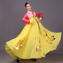 National costume / stage costume Summer 2016 yellow One size fits all contact customer service WBF16004 Great wealth 25-35 years old Polyester 100% Pure e-commerce (online only)